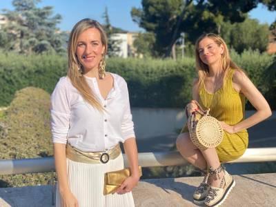 Sandra Andújar y Raquel Oliva