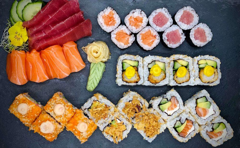 Las mejores ideas para San Valentín - Beso Sushi